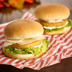 Quorn Frozen Vegetarian Southern Fried Burgers