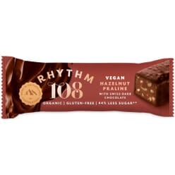 Rhythm 108 Vegan Hazelnut Praline Swiss Chocolate Bars