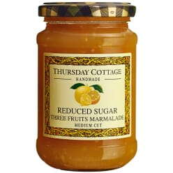 Thursday Cottage Reduced Sugar Three Fruits Marmalade