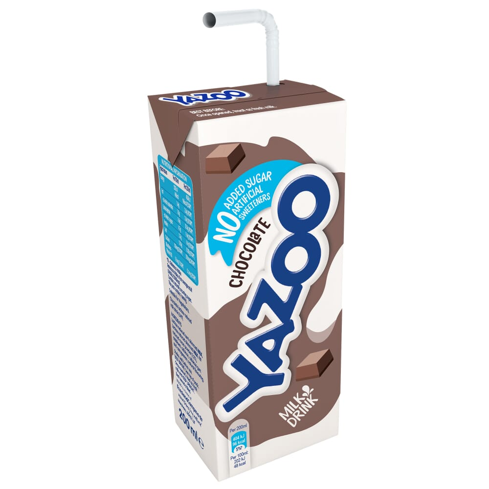 Yazoo No Added Sugar Chocolate Flavoured Milk