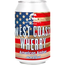 Woodforde's West Coast Wherry American Amber Cans