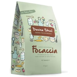 Davina Steel Gluten Free Garlic & Rosemary Focaccia Kit
