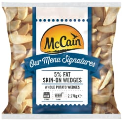 McCain 5% Fat Skin on Wedges
