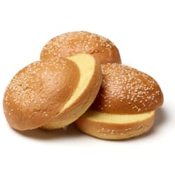 Speciality Breads Frozen British Sliced Glazed Brioche Buns