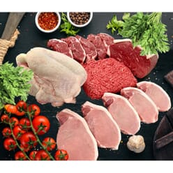 Fresh Local Butchers Family Meat Box