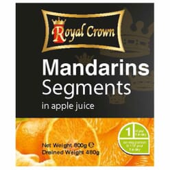 Royal Crown Mandarins in Juice