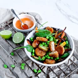 Quorn Frozen Southern Fried Vegan Nuggets