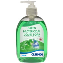 Senses Green Bactericidal Liquid Hand Soap