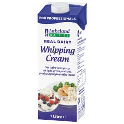 Lakeland Real Dairy Whipping Cream