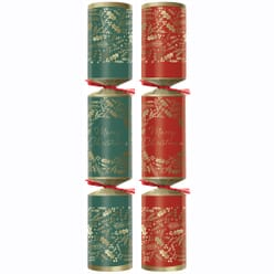 Swantex Festive Foliage Christmas Crackers 10""
