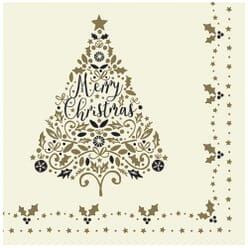 Swantex 'Tis The Season Christmas Swansoft Napkins 40cm