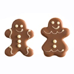 Dawn Christmas Gingerbread Chocolate Decorations