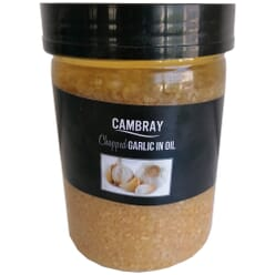 Cambray Chopped Garlic in Oil