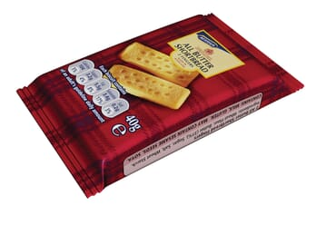 McVities All Butter Shortbread Finger Biscuits Mini Pack