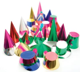 Christmas Rialto Party Hats