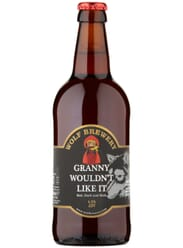 Wolf Brewery Granny Wouldn't Like It Beer 4.8%